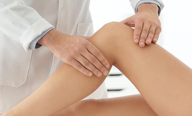 膝の痛みの診察
